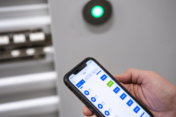 Noke Smart Entry being used at Master Storage 365
