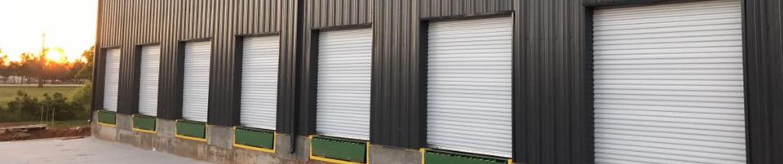 Commercial Doors on Loading Dock