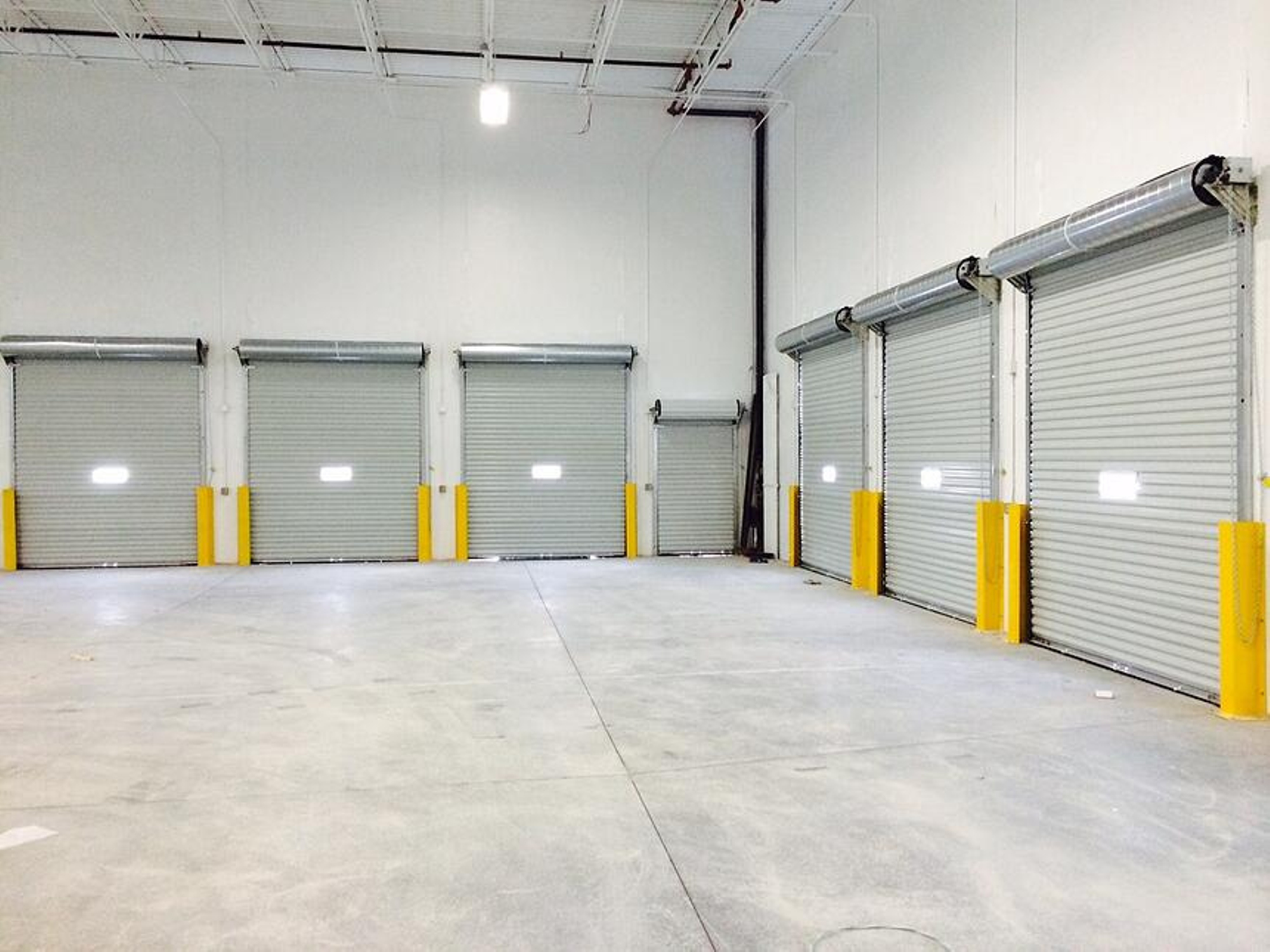 Commercial Roll-up Doors in ADP Freight Terminal
