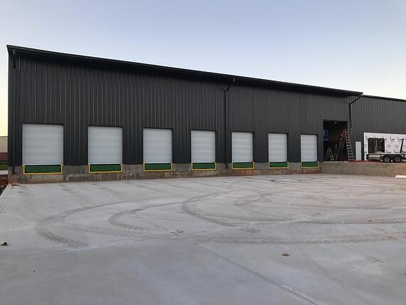 7-160 mph wind rated overhead doors