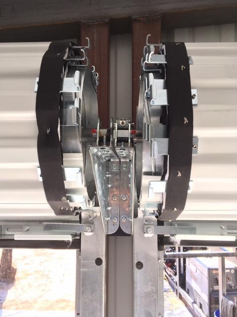 Commercial Roll up Door with Windlocks