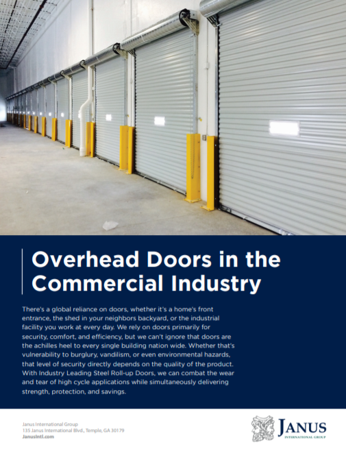 Overhead Doors in the Commercial Industry eBook
