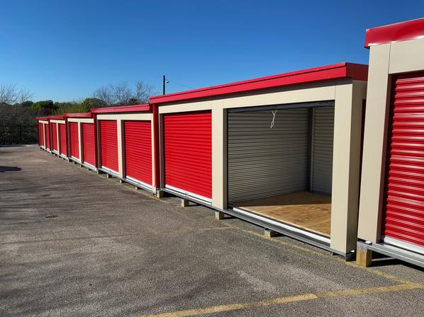 Parking lot after MASS portable unit expansion