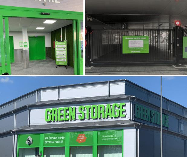 Green Storage Bromma Smart Storage Facility