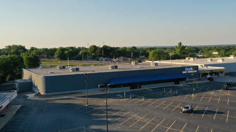 Retail Supermarket that was converted into a self storage facility