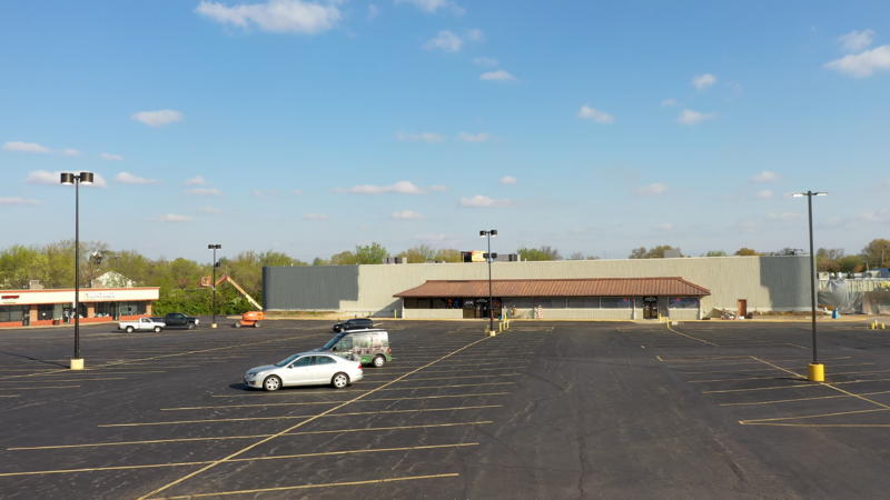 Retail supermarket before it was converted into a self storage facility