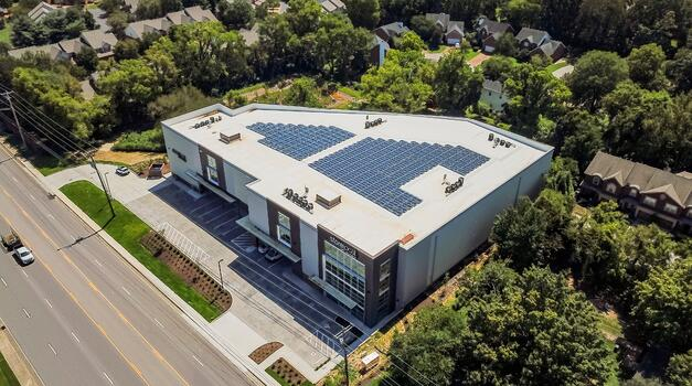 Storelocal Brentwood aerial view