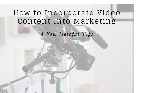 How to Incorporate Video Into Self Storage Marketing