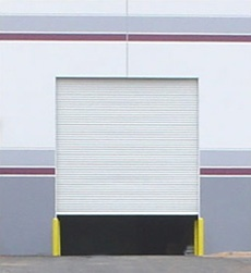 White Janus International heavy duty commercial steel roll up door model 2500