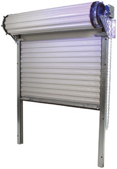 Miami-Dade County Certified Wind Load Rated Steel Roll Up Door