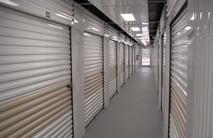 Janus International series 650 steel roll up doors and metal hallway system