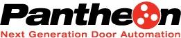 Janus International Pantheon commercial electric door operator logo