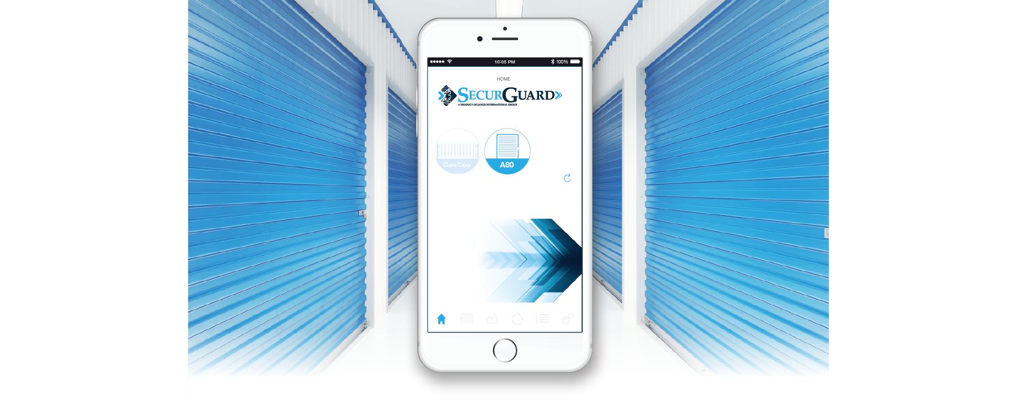 SecurGuard mobile access control app