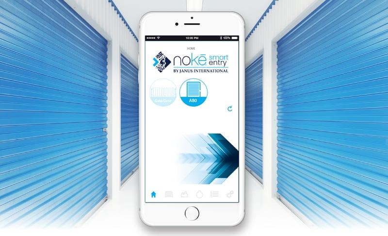Noke Smart Entry-smart phone image
