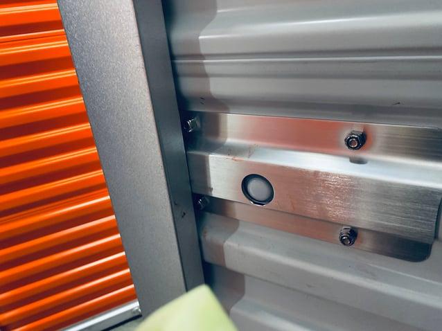 Thermal motion sensor on the back of Noke ONE Smart Lock