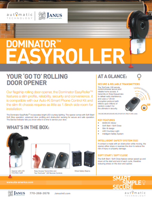 Easy Roller Brochure Image