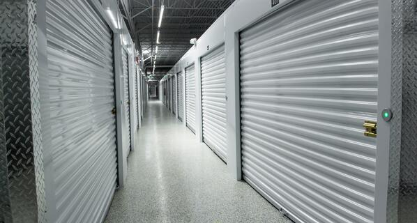 A temperature-controlled storage building