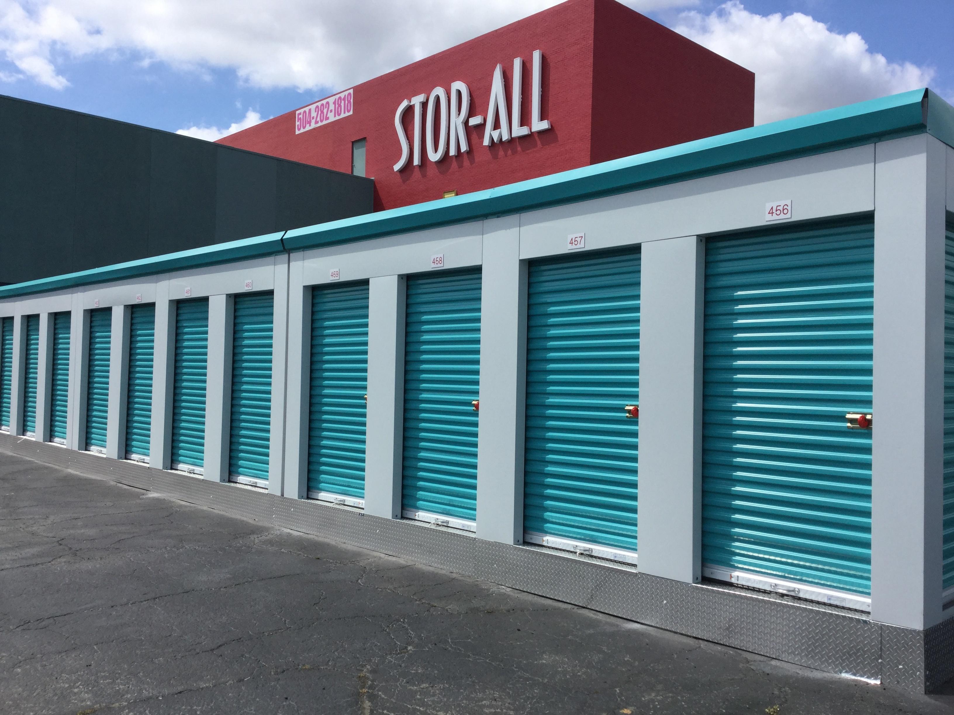 MASS Portable Storage Units at Stor-All Self-storage facility