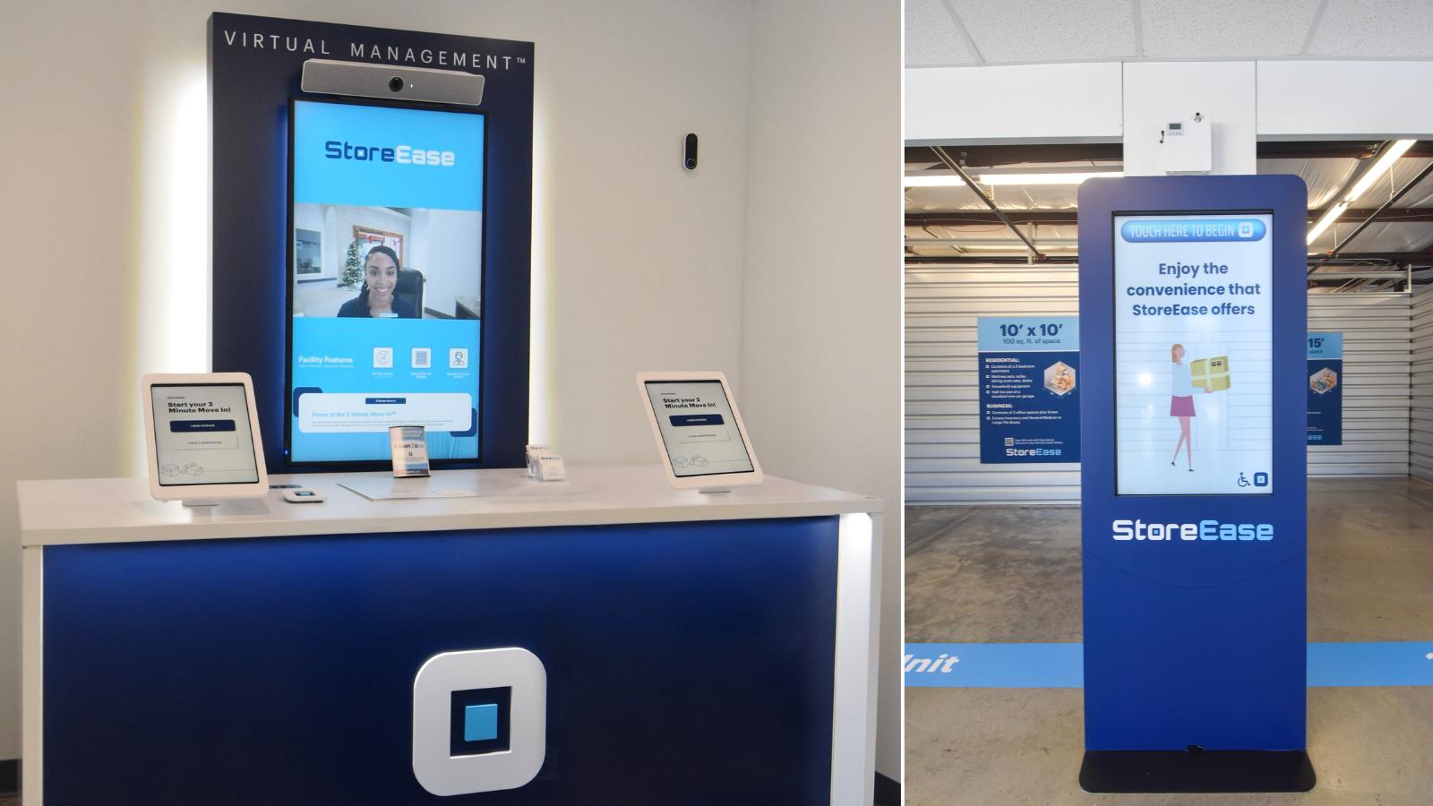 Virtual Manager and Self Service Kiosks at StoreEase Fultondale, AL