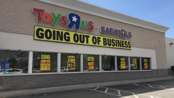 Toys R Us Going Out of Business Image