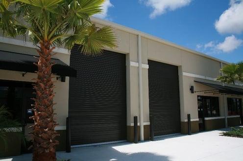 Janus commercial roll up doors