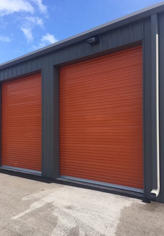 Janus steel roll up commercial doors