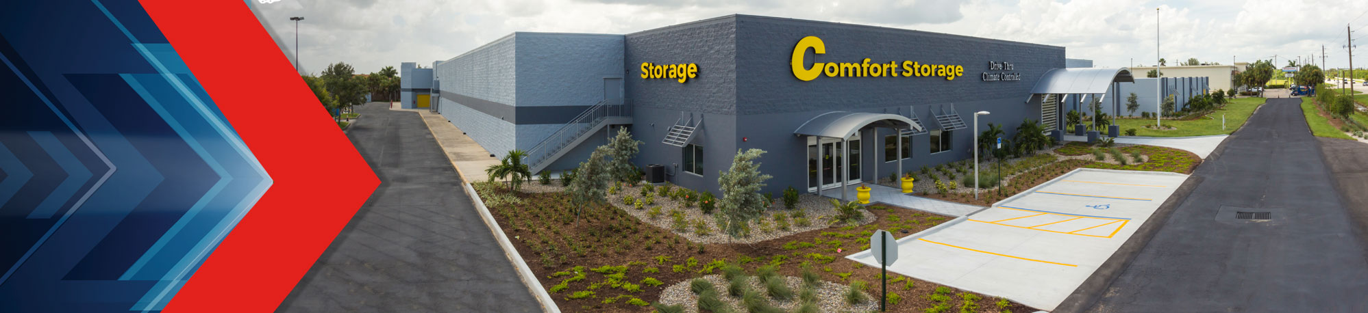 Janus R3 self-storage conversion & renovation at Comfort Storage in Punta Gorda, Florida