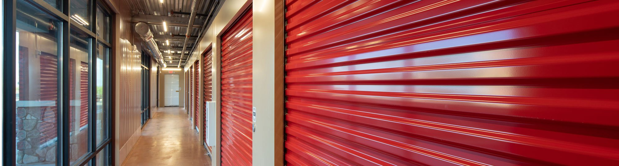 Self storage doors