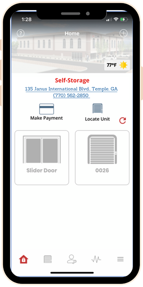 locate my unit on smart entry app