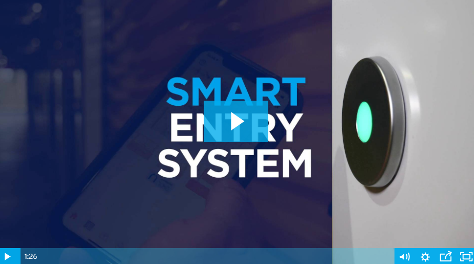smart entry system clip